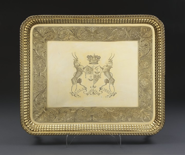 An Important George III Tray