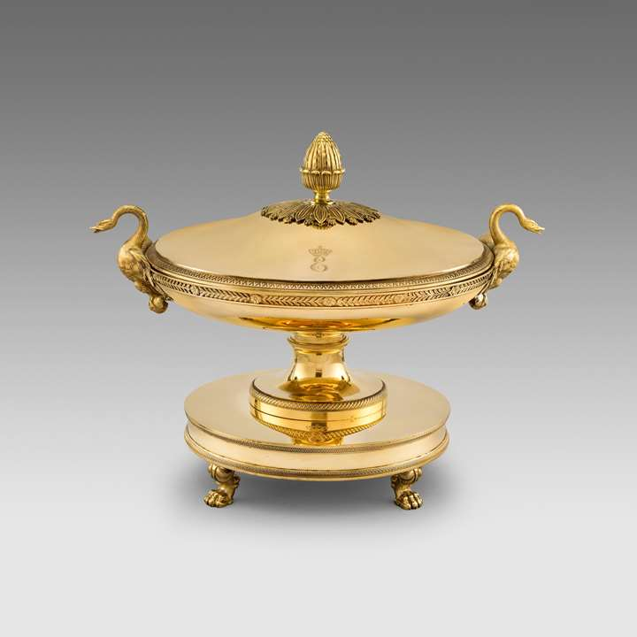 A French 'Royal' silver Soup Tureen