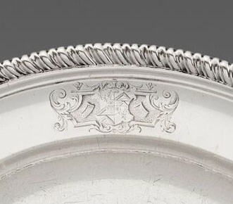 Paul de Lamerie - A George II Silver Second-Course Dish   | MasterArt