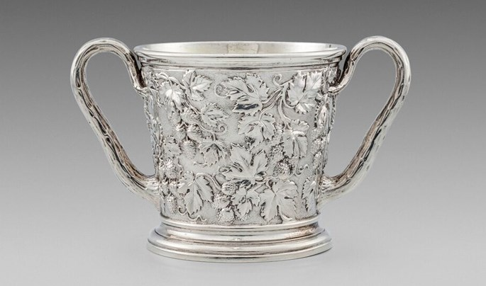 Paul Storr - A Lovely William IV Two-Handled Cup  | MasterArt