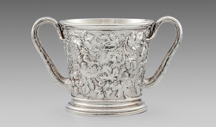 A Lovely William IV Two-Handled Cup