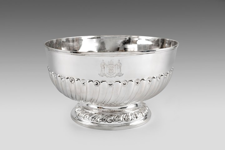 A Very Large Victorian Punch Bowl