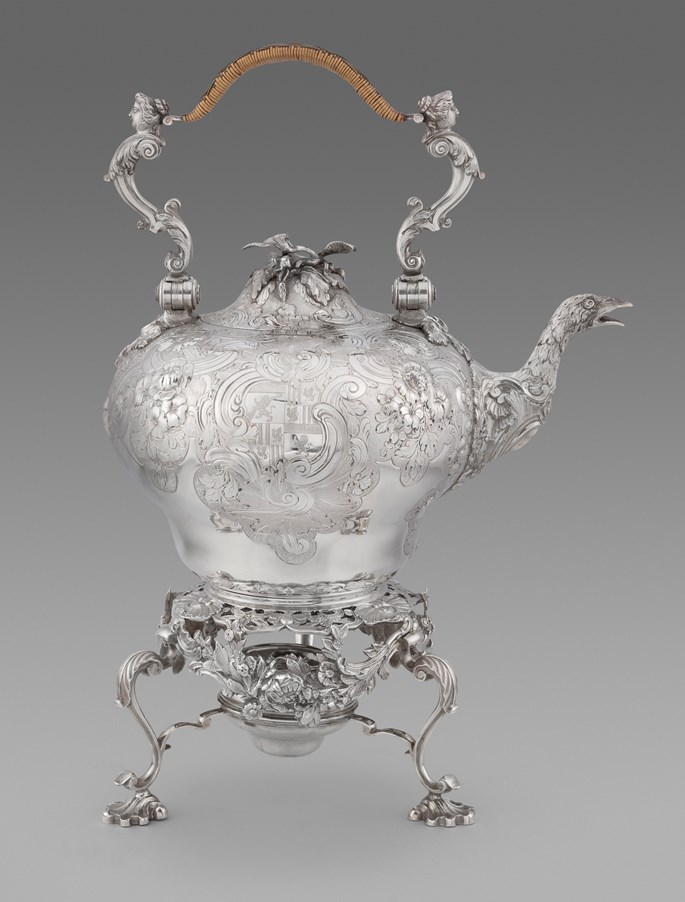 Thomas Gilpin - A George II Rococo Kettle on Stand | MasterArt