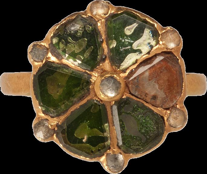 Italian Glass Decorative Ring | MasterArt