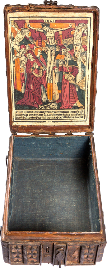 Coffret Woodcut Crucifixion with Two Thieves | MasterArt
