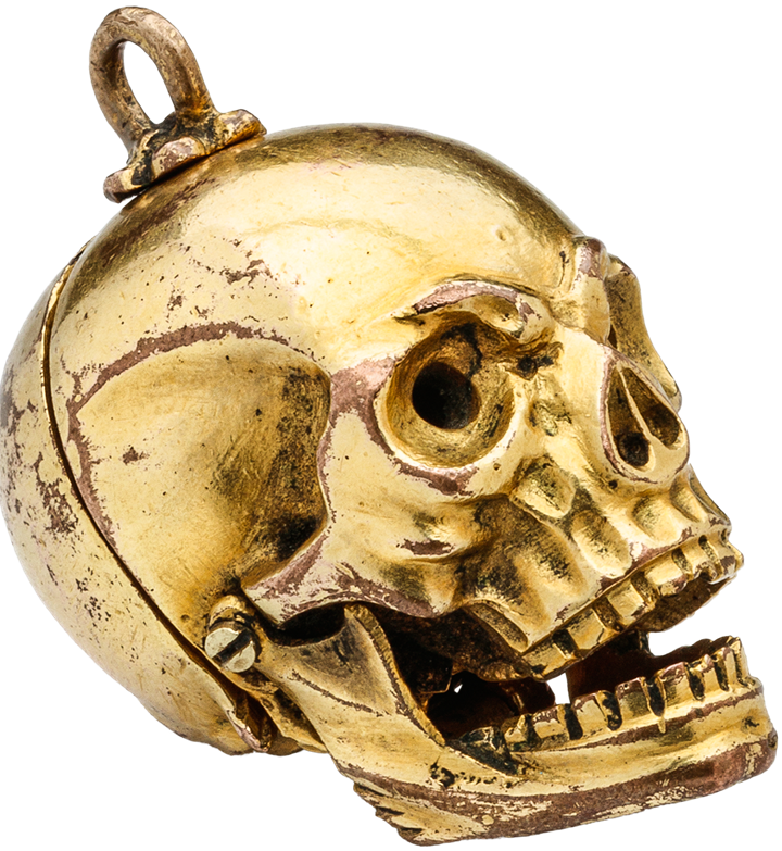 Memento Mori Skull Pendant