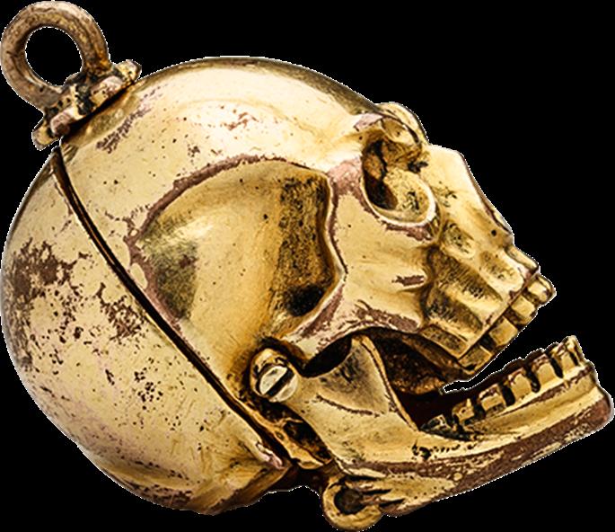 Memento Mori Skull Pendant | MasterArt