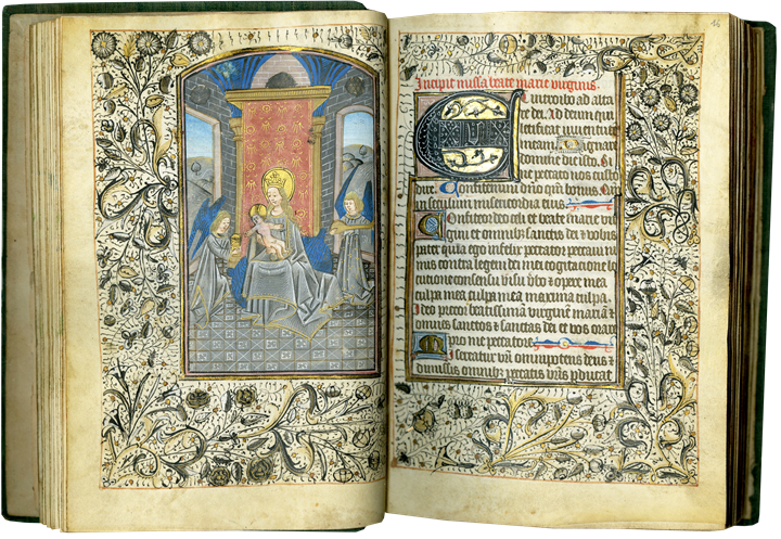 A RICHLY ILLUMINATED SEMI-GRISAILLE BOOK OF HOURS FROM THE WORKSHOP OF WILLEM VRELANT
