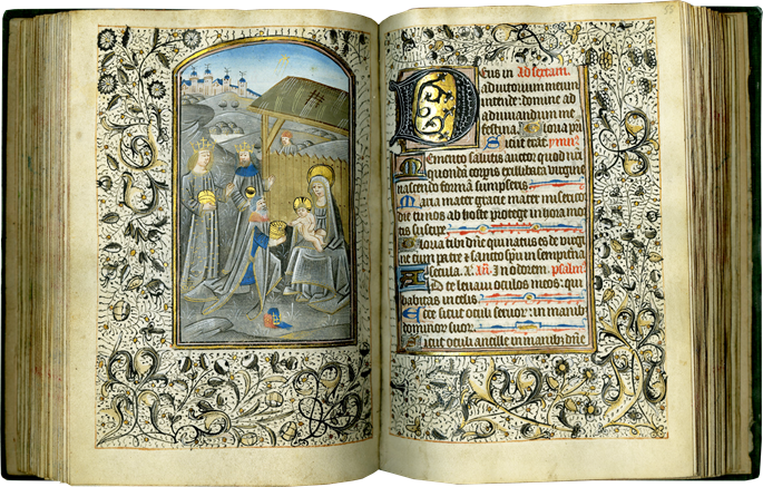 A RICHLY ILLUMINATED SEMI-GRISAILLE BOOK OF HOURS FROM THE WORKSHOP OF WILLEM VRELANT | MasterArt