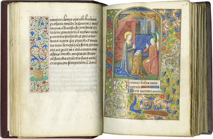 BOOK OF HOURS. MADE FOR AN URBAN ELITE COUPLE IN ROUEN, THE CENTER SECOND ONLY TO PARIS IN FIFTEENTH-CENTURY FRANCE | MasterArt