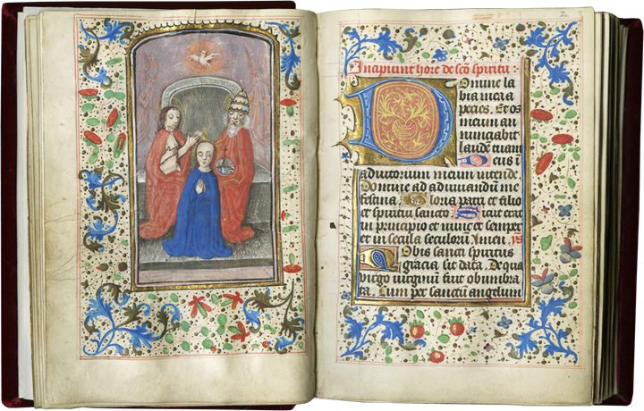 Book of Hours of Considerable Charm and Modest Proportions Reflecting the Everyday Piety Practiced in a Flemish Household