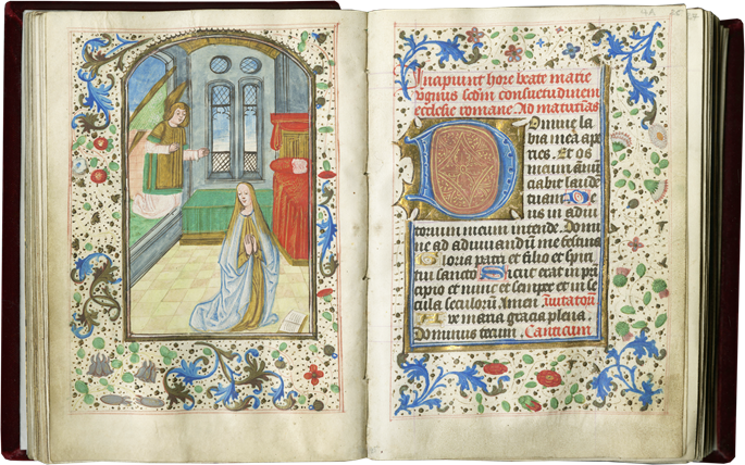 Book of Hours of Considerable Charm and Modest Proportions Reflecting the Everyday Piety Practiced in a Flemish Household | MasterArt