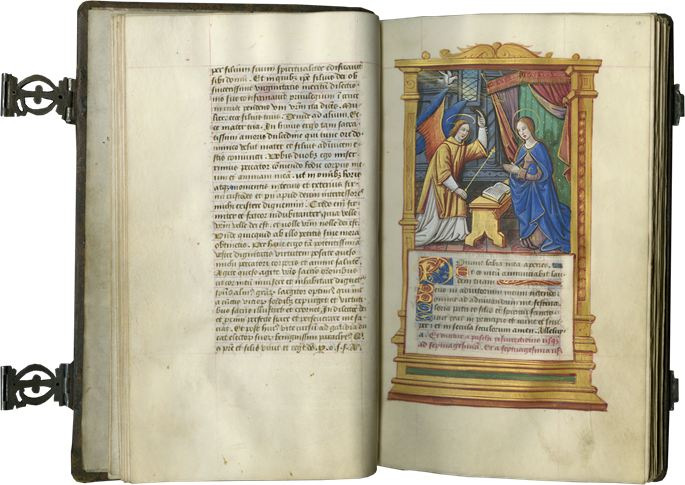 A REMARKABLE EXAMPLE OF A PERFECTLY PRESERVED PARISIAN RENAISSANCE BOOK WITH BINDING, CLASPS, AND PICTURES ALL INTACT | MasterArt