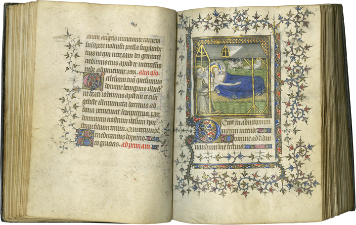 BOOK OF HOURS. EVIDENCE OF A SPECIAL EARLY MOMENT IN PARISIAN BOOK PRODUCTION EXPRESSIVE OF NORTHERN REALISM