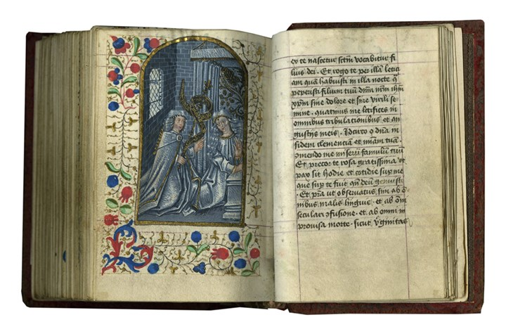 Reading the Hours: A Remarkable Example with Early 50 Pictures