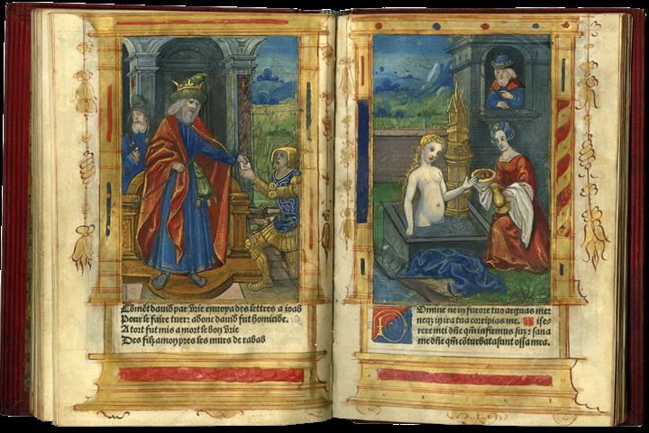 Splendid Example of a Printed Book Imitating a Manuscript