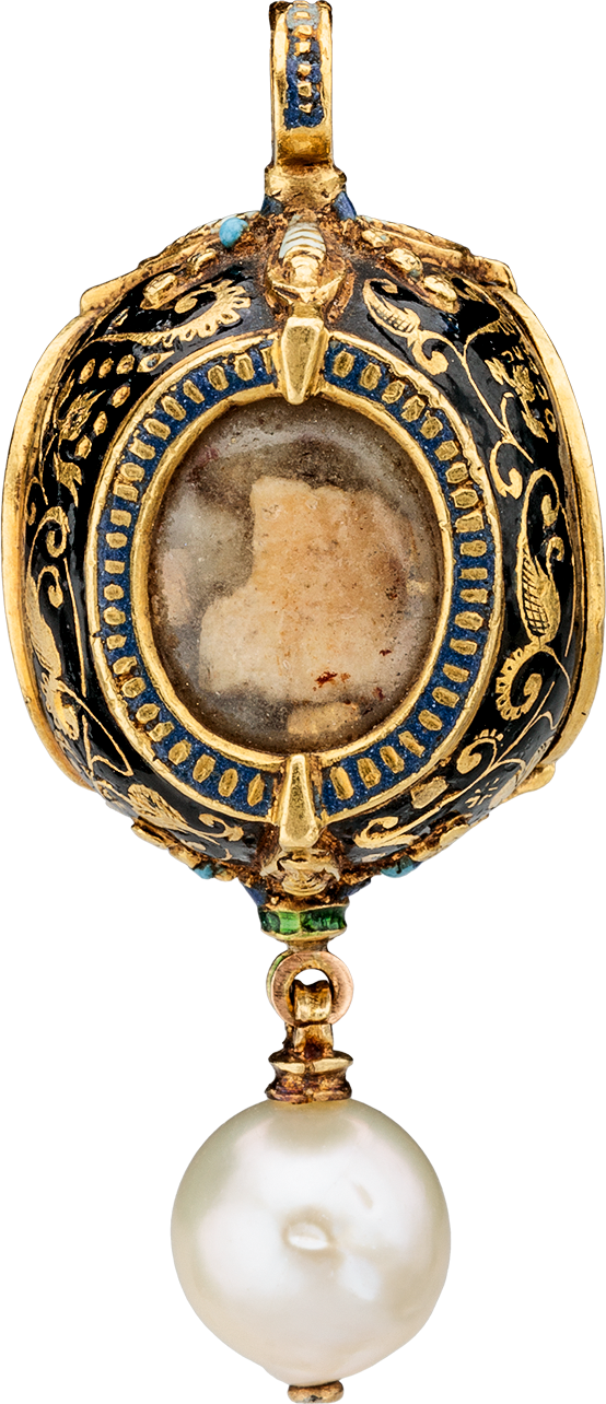 Reliquary Pendant with Pearl | MasterArt