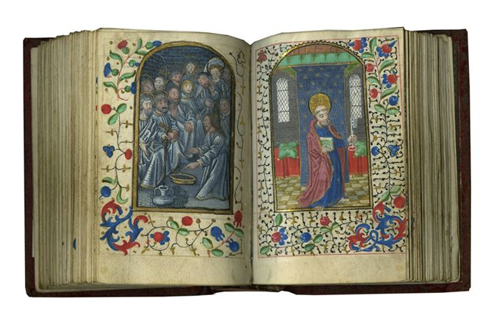 Reading the Hours: A Remarkable Example with Early 50 Pictures | MasterArt