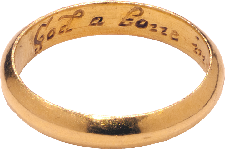 "Posy Ring ""God Above Increase Our Love"""