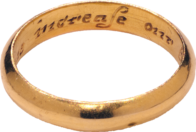 """Posy Ring """"God Above Increase Our Love"""" 