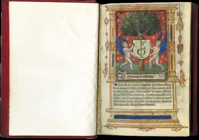 Splendid Example of a Printed Book Imitating a Manuscript | MasterArt