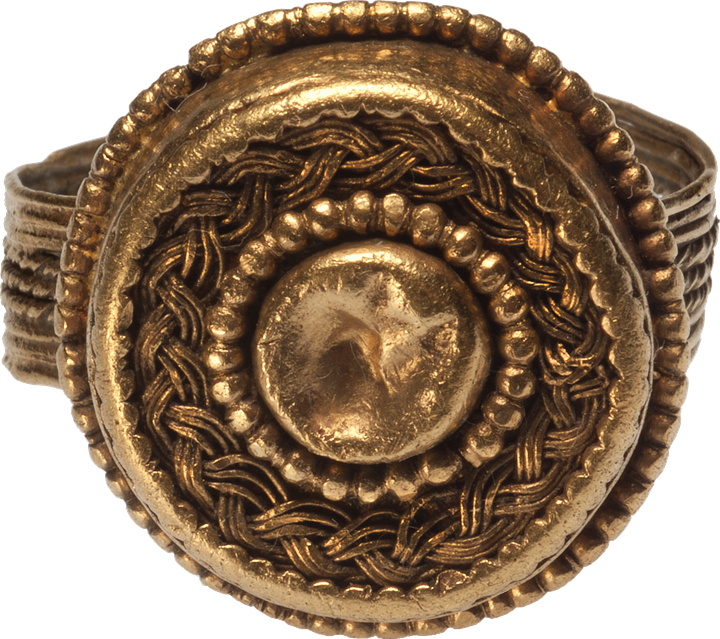 Late Cypriot II Gold Ring