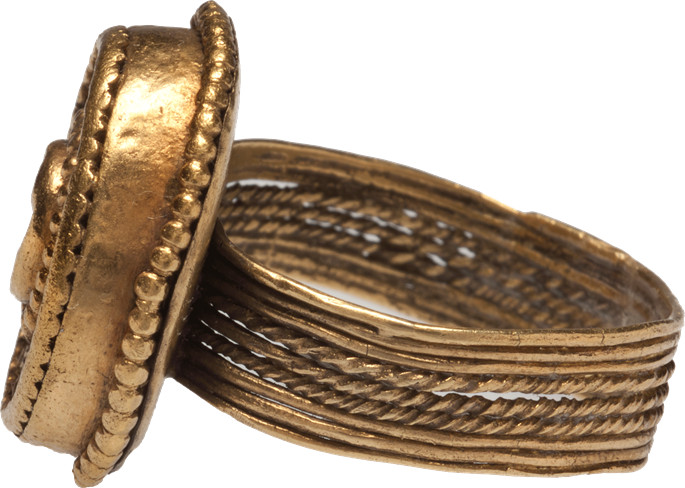 Late Cypriot II Gold Ring | MasterArt