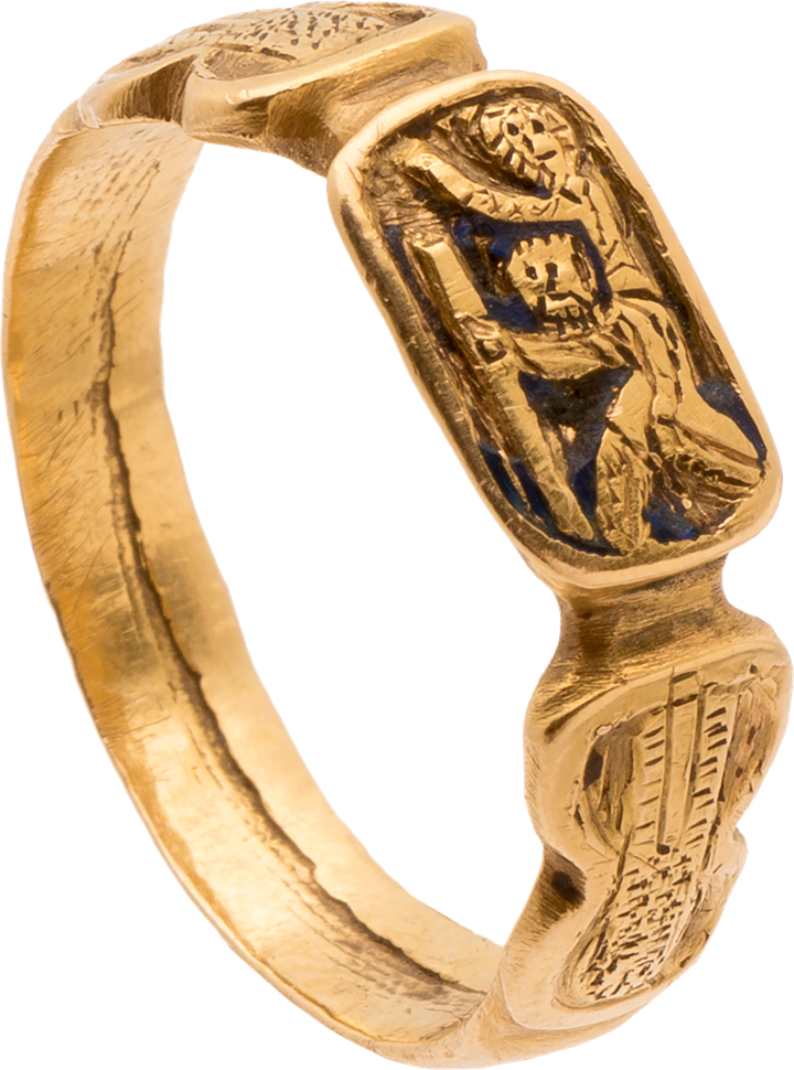 Iconographic Ring with ST. Christopher