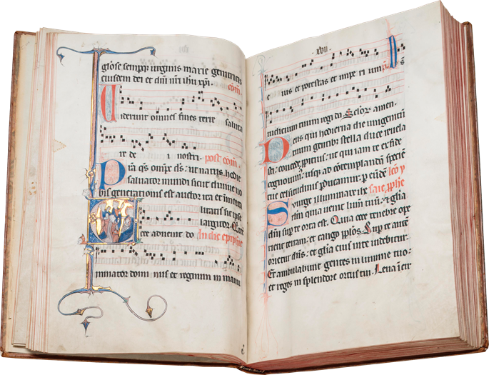 """Noted Missal (the """"Soissons Missal"""") 