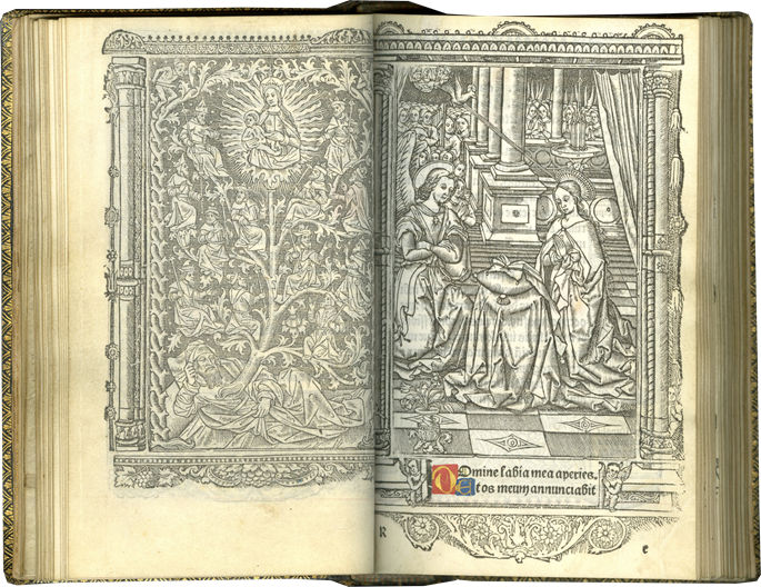Simon Vostre - Classic Uncolored Printed Book of Hours by an Important Early Printer | MasterArt