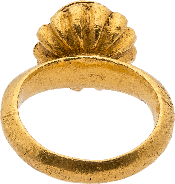 Gold Ring with Personification of Constantinople | MasterArt