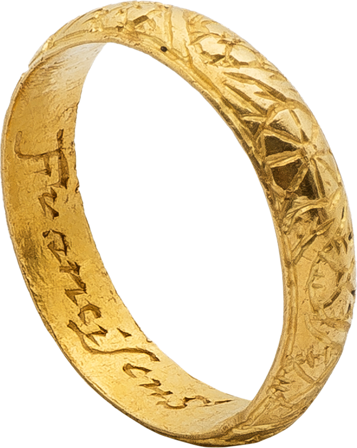 Gold Ring Franciscus South Miles