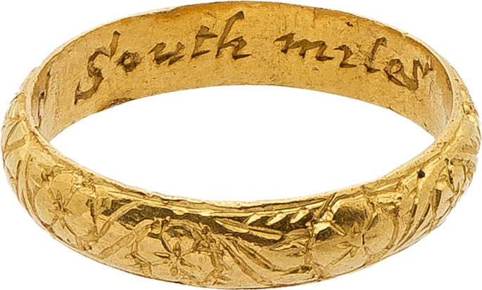 Gold Ring Franciscus South Miles | MasterArt