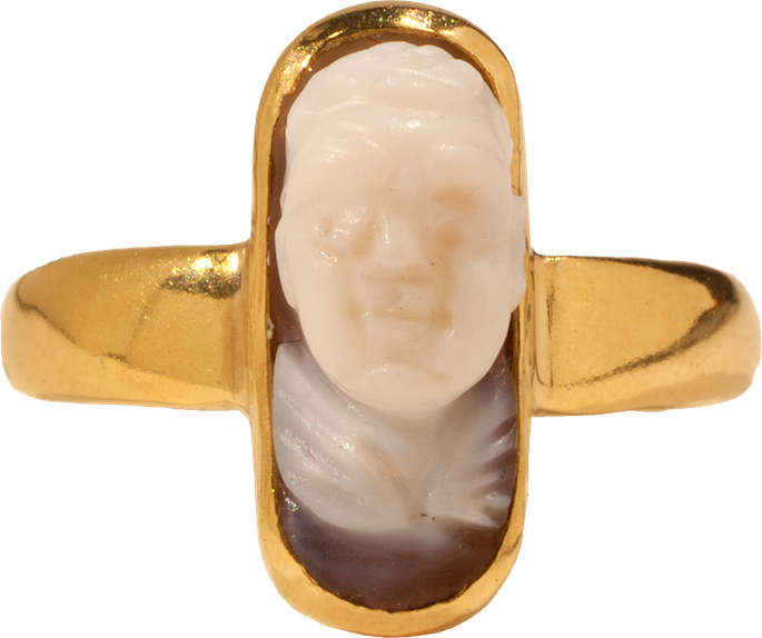 Cupid Cameo Ring | MasterArt