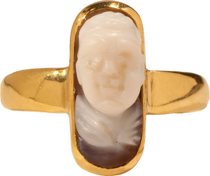 Cupid Cameo Ring