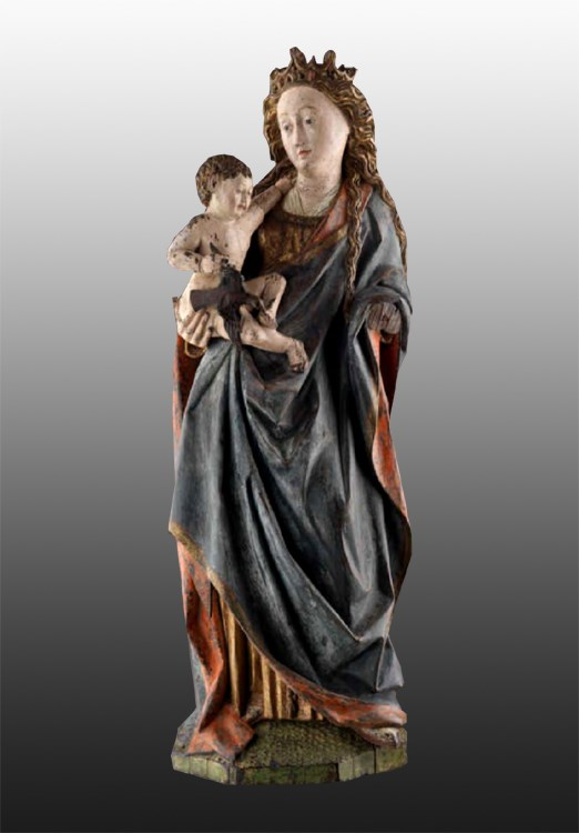 Renaissance Statue: Virgin and Child | MasterArt