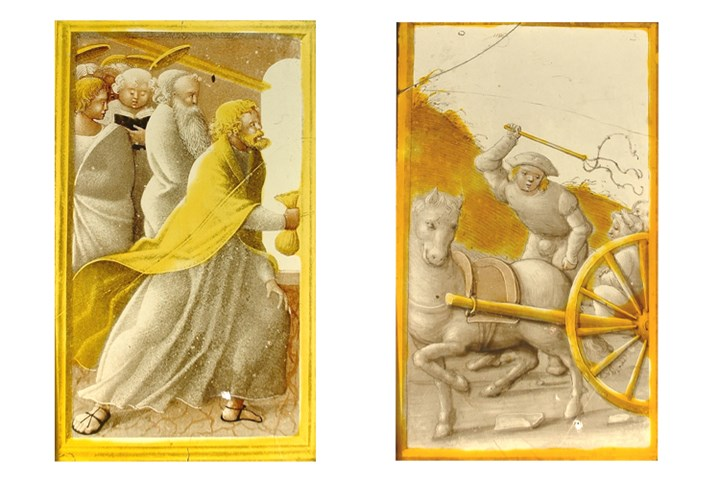 Two Panels from Civil Architecture