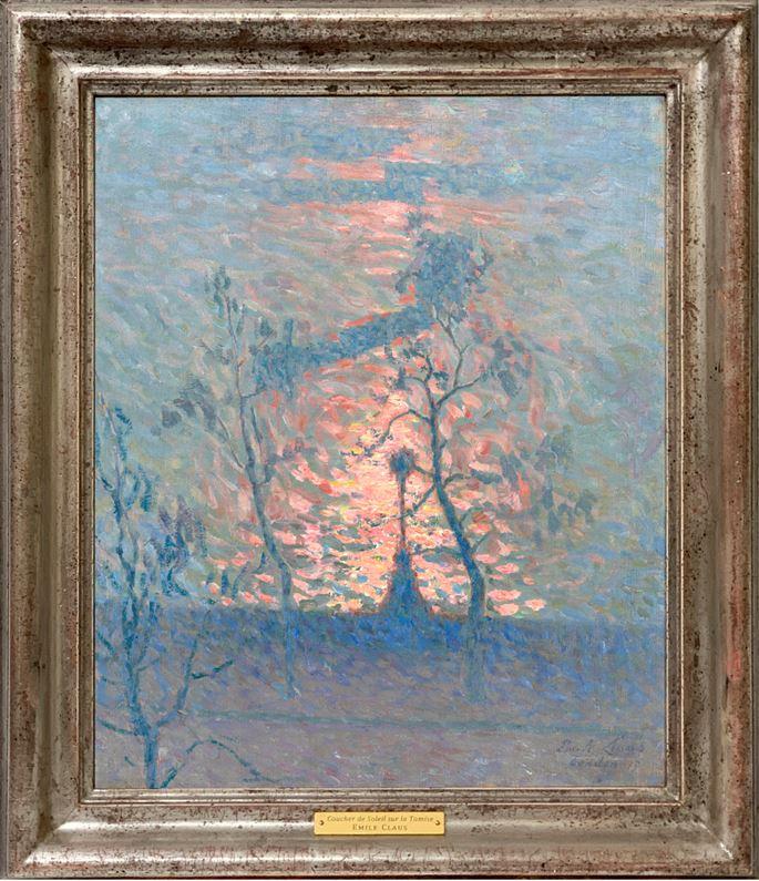Emile Claus - Sunset on the Thames | MasterArt