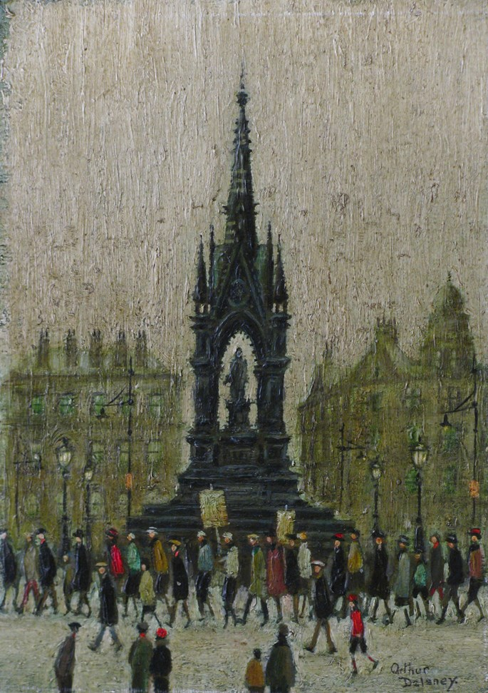 Arthur Delaney - A March in Albert Square | MasterArt