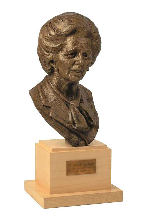 Bust of Margaret Thatcher
