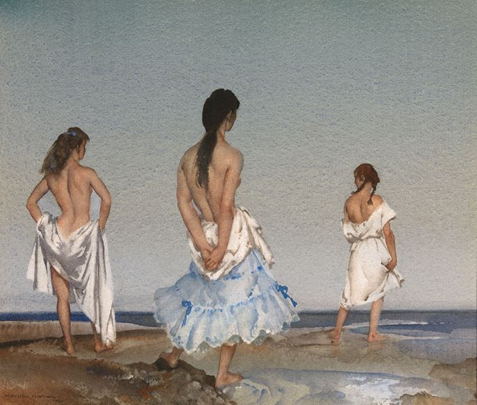 Sir William Russell  Flint - The Empty Horizon | MasterArt