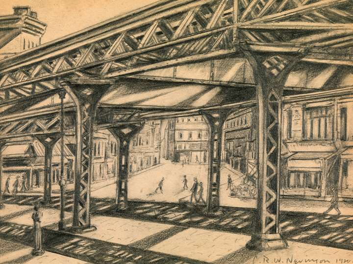 Third Avenue, Elevated Railway
