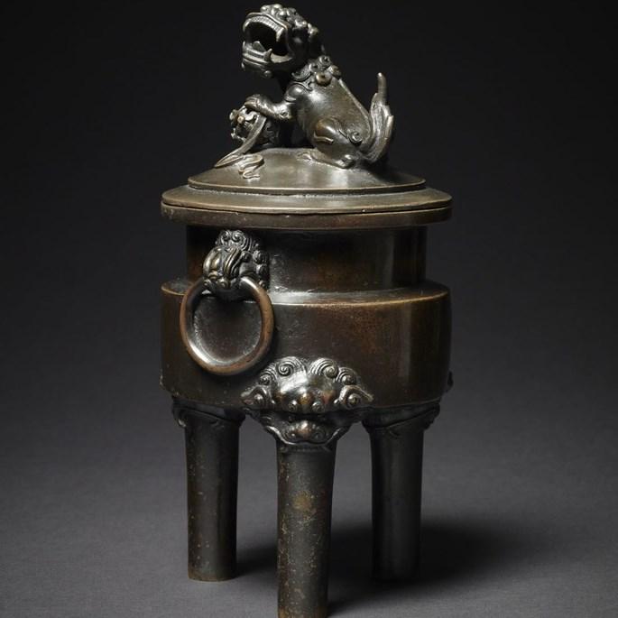 Bronze Tripod Censer,China, Qing Dynasty | MasterArt