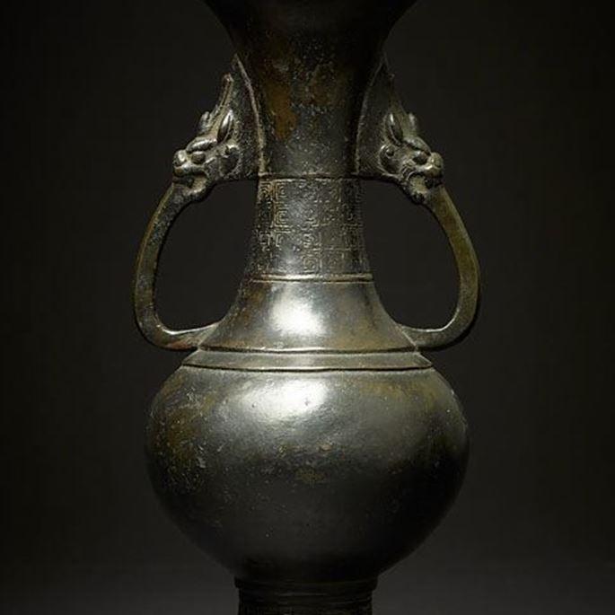 A Bronze Baluster Vase, Song/Yuan Dynasty | MasterArt