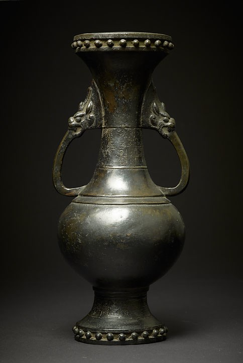 A Bronze Baluster Vase, Song/Yuan Dynasty