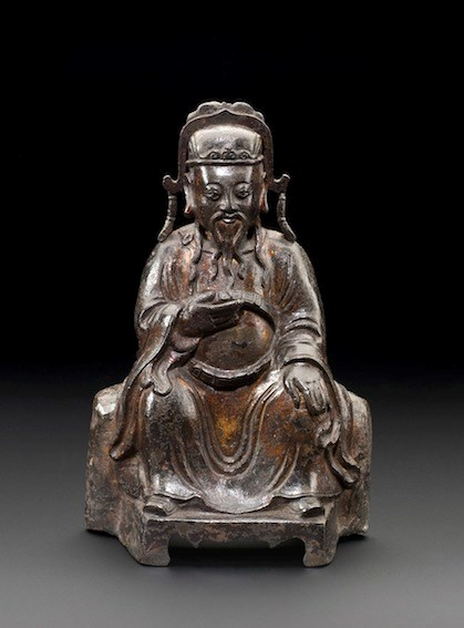 Bronze Seated Official, Ming Dynasty | MasterArt