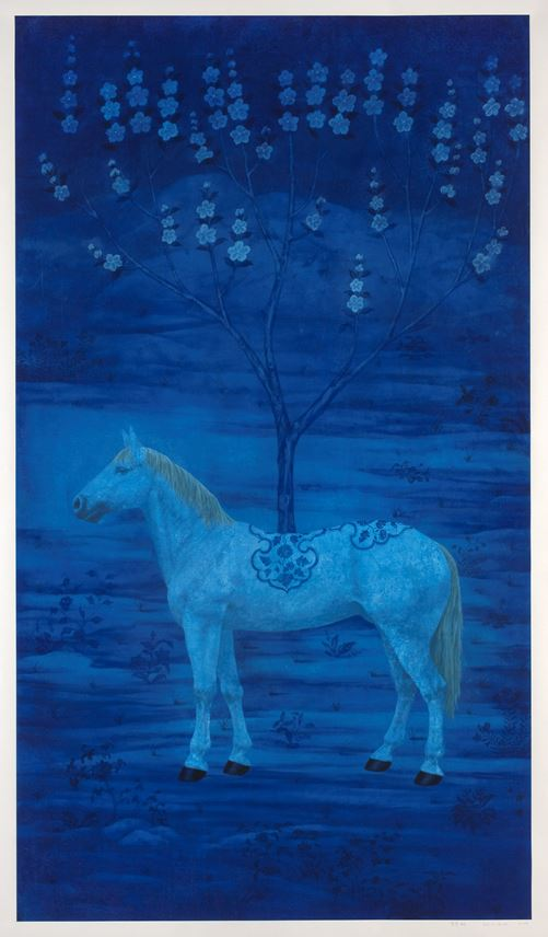 Lei Xu - Tree of Blue Underglaze | MasterArt