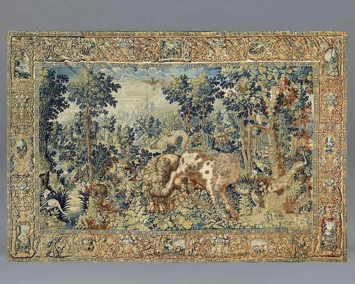 A 'Pugnae Ferarum' Tapestry