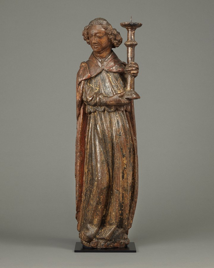 Angel Holding Candlestick