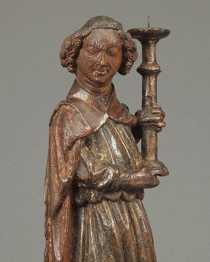 Angel Holding Candlestick | MasterArt